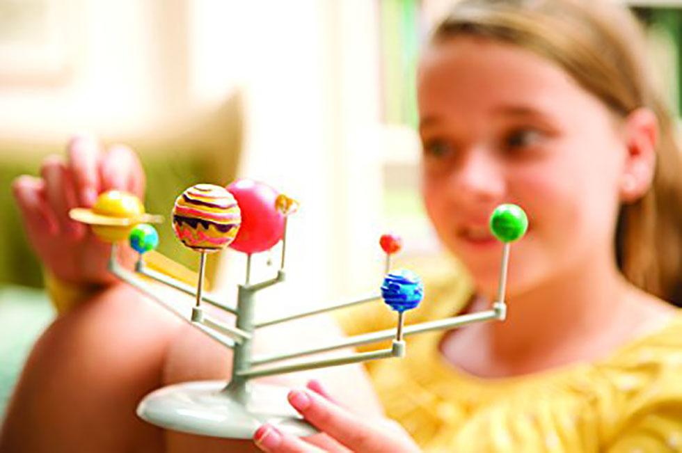 Juguetes de Ciencia Niños Ciencia Juguete Didáctico de Ciencia para que tus hijos armen su propio sistema solar o planetario