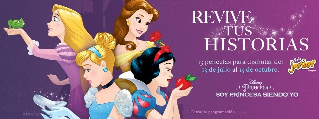 5 recomendaciones para tus hijos en agosto Disney Princesas Revive tus Historias