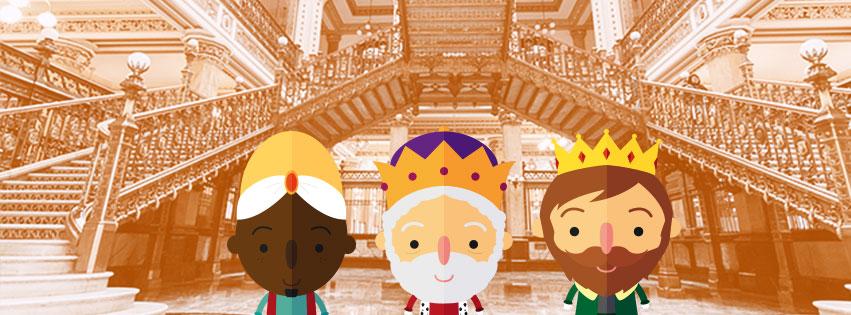 Día de Reyes en CDMX Palacio Postal