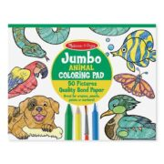 BLOC GIGANTE DE ANIMALES PARA COLOREAR - MELISSA AND DOUG