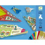 Aviones Origami Papiroflexia Djeco
