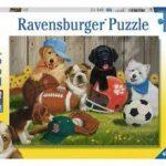 Rompecabezas Perritos y Pelotas de Deportes Ravensburger