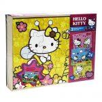 3 Rompecabezas  Hello Kitty 24 Piezas Novelty