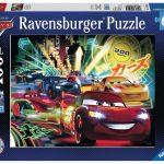 Rompecabezas Cars Carrera de Neón Disney 100 piezas Ravensburger