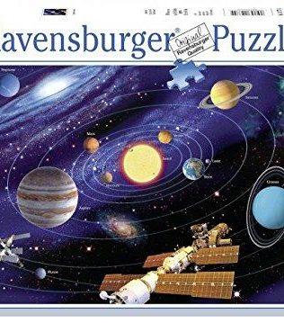 Rompecabezas Planetas Sistema Solar 500 piezas Ravensburger