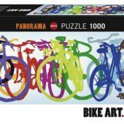 Rompecabezas Bike Art Línea Colorida 1000 piezas Heye