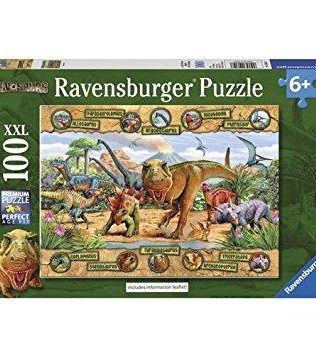 Rompecabezas Dinosaurios 100 piezas Ravensburger