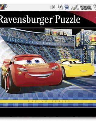 Rompecabezas Disney Cars 3 100 piezas Ravensburger