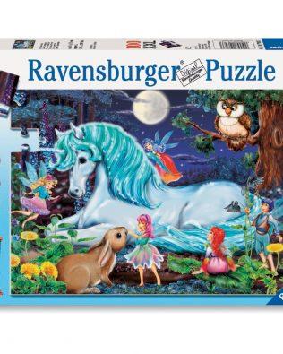 Rompecabezas Unicornio Bosque Mágico 100 piezas Ravensburger