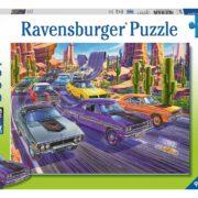 Rompecabezas Carros Duelo de Montaña 300 piezas Ravensburger