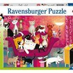 Rompecabezas Gatitos en el Sillón 300 Piezas Ravensburger