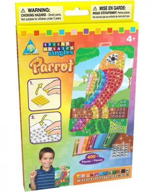 Sticky Mosaics Periquito Orb Factory