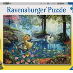 Rompecabezas Unicornio Encuentro Místico 300 piezas Ravensburger