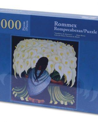 Rompecabezas Vendedora de Alcatraces 1000 piezas Rommex