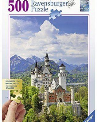 Rompecabezas Castillo Neuschwanstein 500 piezas Ravensburger
