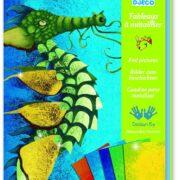 Kit de arte Dragones Cuadros Metalizados Djeco