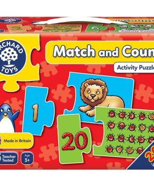 Asocia y Cuenta Match and Count Orchard Toys