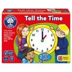 Juego de Mesa Tell the Time Dime la Hora Orchard Toys