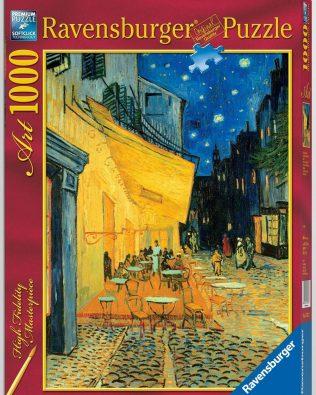 Rompecabezas Van Gogh Café de Noche 1000 piezas Ravensburger