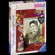 Rompecabezas Portaretrato Frida Kahlo 1000 piezas Ravensburger
