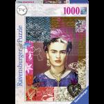 Rompecabezas Pintura Frida Kahlo 1000 piezas Ravensburger