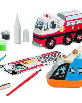 Haz Tus Propios Vehículos de Rescate – Melissa And Doug