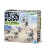 3 EN 1 MINI ROBOTS SOLARES - 4M