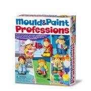 MOLDEA Y PINTA PROFESIONES - 4M