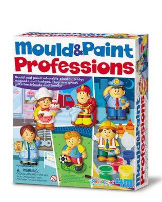 Moldea y Pinta Profesiones – 4M