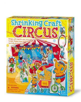Crea Tu Propio Circo de Plástico Encogible – 4M