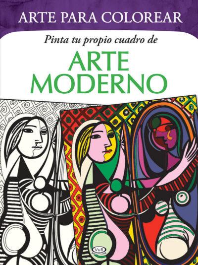 ARTE PARA COLOREAR DE ARTE MODERNO - V&R EDITORAS