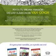 ARTE PARA COLOREAR DE VAN GOGH - V&R EDITORAS