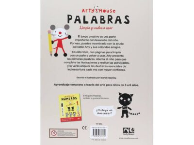 ARTY MOUSE PALABRAS - V&R EDITORAS