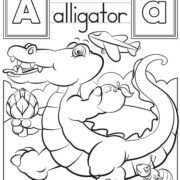 BLOC PARA COLOREAR ANIMALES CON EL ALFABETO EN INGLES - MELISSA AND DOUG