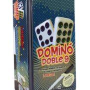 DOMINO DOBLE 9 (CAJA METÁLICA) - NOVELTY