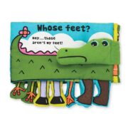 LIBRO DE TEXTURAS WHOSE FEET - MELISSA AND DOUG
