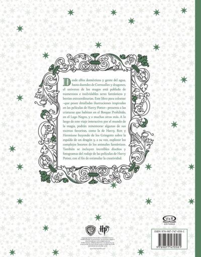 LIBRO PARA COLOREAR DE HARRY POTTER Y LAS CRIATURAS MÀGICAS - V&R EDITORAS