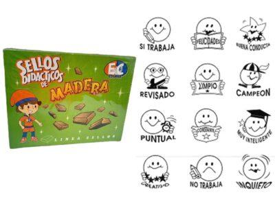 SELLOS MOTIVADORES - EDUCAR