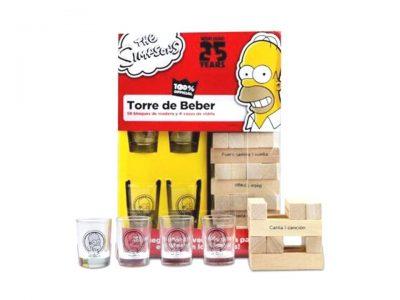 TORRE DE BEBER DE LOS SIMPSONS - NOVELTY