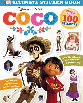 Coco Libro De Stickers