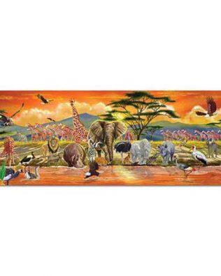 Rompecabezas De piso Safari