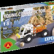 Joven Constructor Camioneta Pickup Alexander