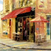 Rompecabezas Hillside Cafe, Haixia Liu