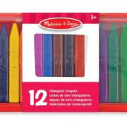 Crayones Triangulares (12 Piezas) –  Melissa and Doug