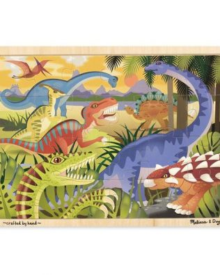 Rompecabezas de Dinosaurios Melissa and Doug