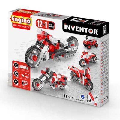 Inventor 12 en 1 Motocicletas Engino