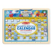 CALENDARIO MENSUAL MELISSA AND DOUG