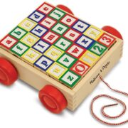 COCHE CON BLOQUES DE MADERA ABC 123 MELISSA AND DOUG
