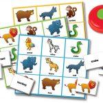 Escucha y Juega con el Bingo del Zoológico