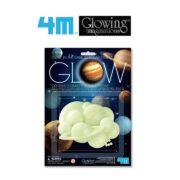 GLOW IN THE DARK 3D SOLAR SYSTEM - 4M